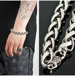 Twisted Metal Chain Bracelet 53