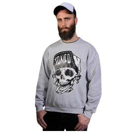 Toxico Clothing Grey Suicidal Crew Neck Sweatshirt