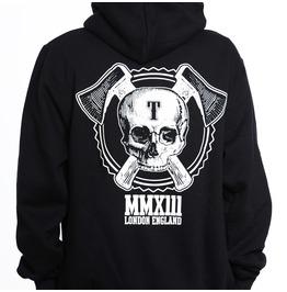 Toxico Clothing Black Axe Skull Logo Ziphood