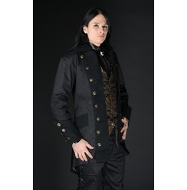 Mens Black Classic Gothic Victorian Pirate Jacket $9 Worldwide Shipping