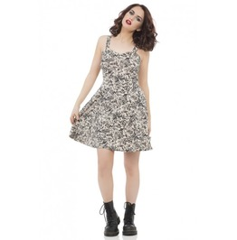 Jawbreaker Clothing Mysterious Tattoo Dress