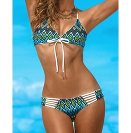Sexy No3 Various Print Bikini Swimsuit