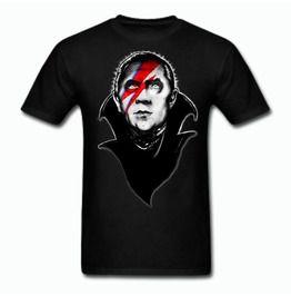 Bela Lugosi As Ziggy Stardust Tee Shirt With Extended Sizes