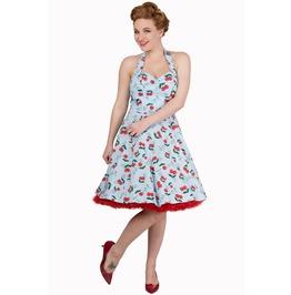 Banned Apparel Blindside Short Halter Neck Dress