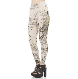 Jawbreaker Cloyhing Sea Witch Steampunk Leggings