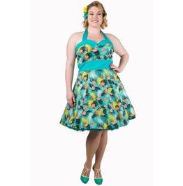 Banned Apparel Wanderlust Short Halter Neck Dress