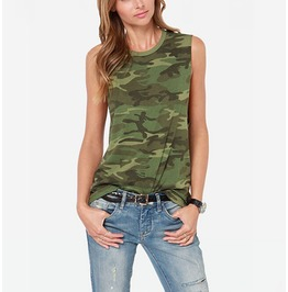 Women's Camouflage Tank Tops