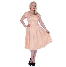Voodoo Vixen Lilly Ann 50's Stunning Polka Dot Dress