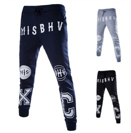 Men's Drawstring Sweatpants Harem Pants Jogger Pants