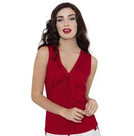 Voodoo Vixen Red Liza Sexy Blouse