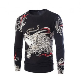 Men's Totem Printed Sweater