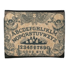 Ouija Board Wallet Leather Or Faux Leather