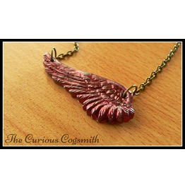 Red Wing Necklace