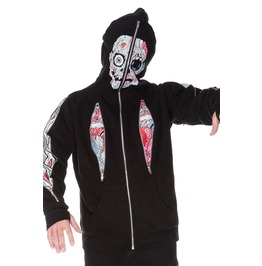 Jawbreaker Clothing Horrified Full Face Hoodie