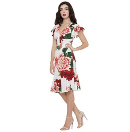 Voodoo Vixen Sassy Myrna Perfect Summer Getaway Dress
