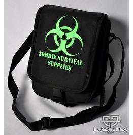 Cryoflesh Biohazard Zombie Industrial Cyber Goth Punk Cyberpunk Rave Bag