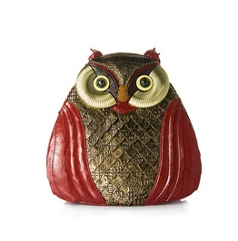 Exquisite Handmade Retro Owl Shoulder Bag New Trend Dual Use Ladies Bag
