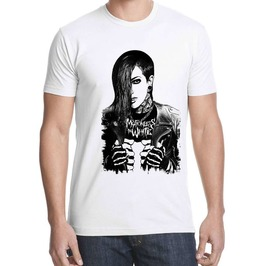 Chris Motionless In White Shirt T Gothic Metal T Shirt Bant Tshirt Cotton