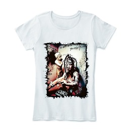Marilyn Manson Shirt T Tattoo Women T Metal Gothic Band T Shirt Cotton