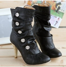 Women's New Sexy High Heels Ankle Boots