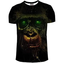 Dark Chimpanzee T Shirt From Mr. Gugu & Miss Go