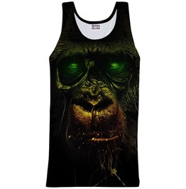 Dark Chimpanzee Tank Top From Mr. Gugu & Miss Go