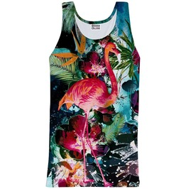 Colorful Flamingo Tank Top From Mr. Gugu & Miss Go