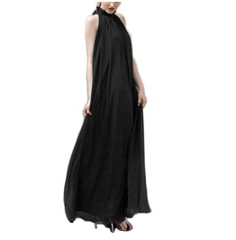 Full Length Elegant Chiffon Dress