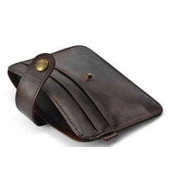 Small Purse Real Leather Wallet Men's