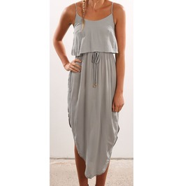Knee Length Summer Dress Casual Look