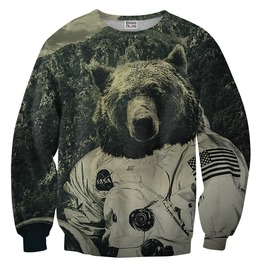 Nasa Bear Sweater From Mr. Gugu & Miss Go