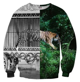 Tiger Cage Sweater From Mr. Gugu & Miss Go