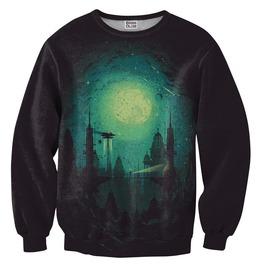 Futuristic City Sweater From Mr. Gugu & Miss Go