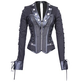 Lady Gothica's Overcoat Corset