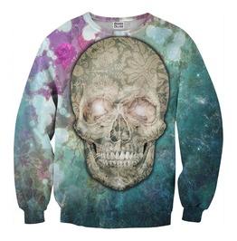 Flower Skull Sweater From Mr. Gugu & Miss Go