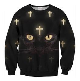 Cross Cat Net Sweater From Mr. Gugu & Miss Go