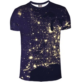Light Map T Shirt From Mr. Gugu & Miss Go