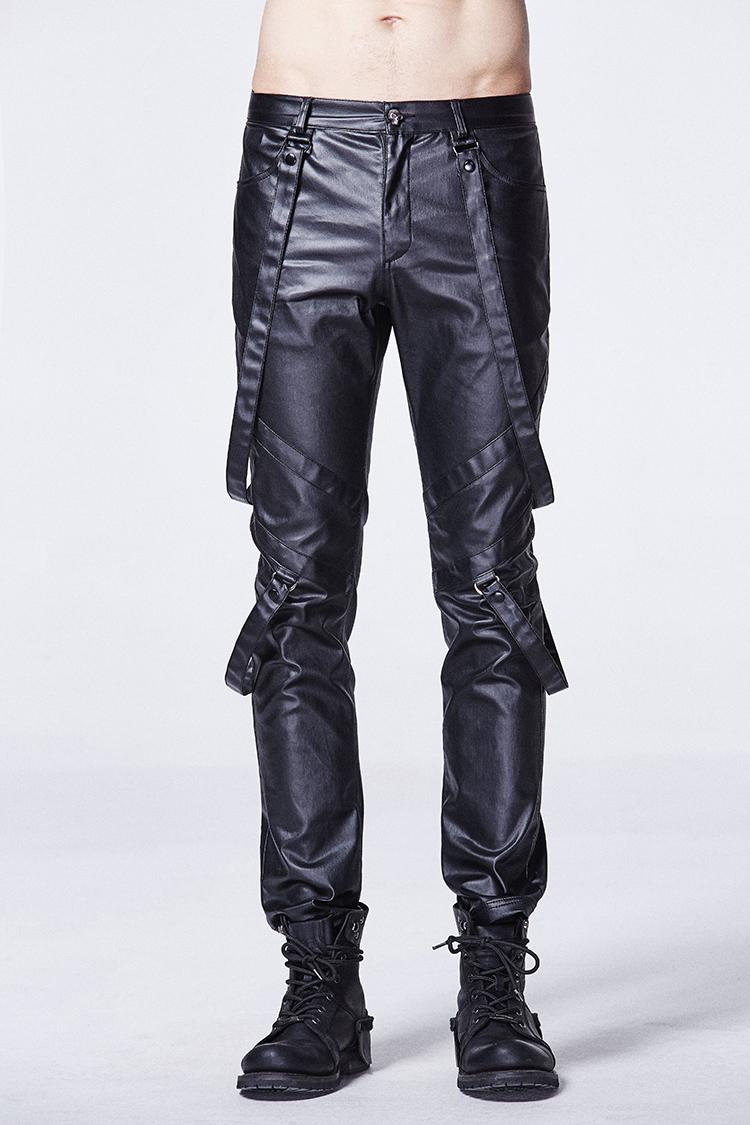 Leather Bondage Pants 73