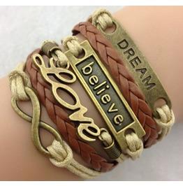 Handmade Dream Love Bracelet Infinity Vintage Bracelet