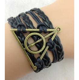 Handmade Leather Bracelet Infinity Vintage Bracelet