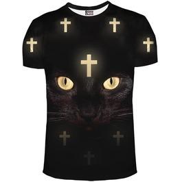 Cross Cat Net T Shirt From Mr. Gugu & Miss Go