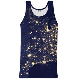 Light Map Tank Top From Mr. Gugu & Miss Go