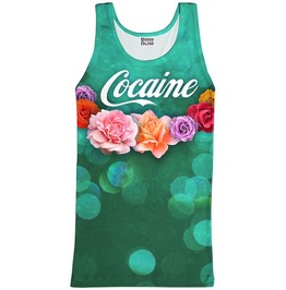 Cocaine Tank Top From Mr. Gugu & Miss Go