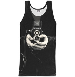 Camera Tank Top From Mr. Gugu & Miss Go