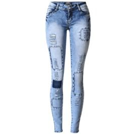Women's Applique Skinny Jeans