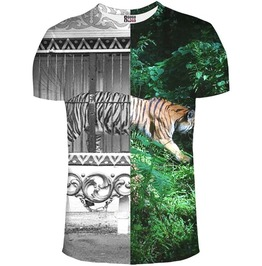 Tiger Cage T Shirt Women From Mr. Gugu & Miss Go