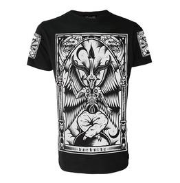 Baphomet T Shirt Occult Satanic Goth