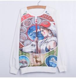 Sudadera Mononoke Chihiro Sweatshirt Wh117