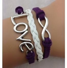 Handmade Love Bracelet Infinity Bracelet