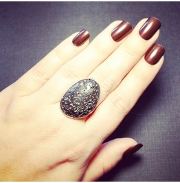 Lava Rock Ring Volcanic Rock Essential Oil Diffuser Jewelry